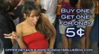 Sundays Blue Box Tanning Resort <br>Cinco de Mayo 5-cent-sale!  May 1-7