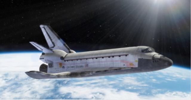 Meluncur dan Sukses Dengan Pesawat Ulang Alik NASA