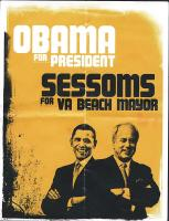 Sessoms Stands With Obama?